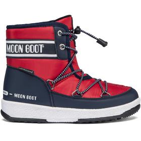 Moon Boot Mid WP 2 Laarzen Jongens, blauw/rood